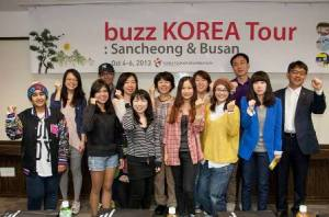 buzz KOREA Tour participants